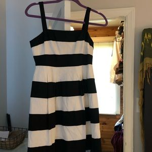 LOFT black and white dress